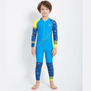Bộ bơi liền thân trẻ em chống nắng chống UV