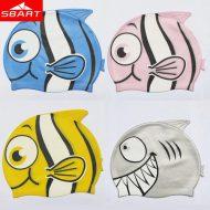 mũ bơi trẻ em hình cá