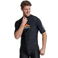 áo bơi nam chống nắng cộc tay