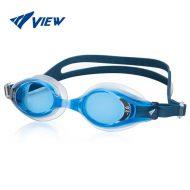 kính bơi cận view nhật màu xanh