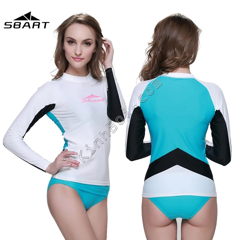 Áo bơi dài tay cho nữ - Sbart - Chống nắng