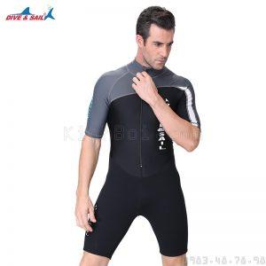 bộ bơi liền thân nam giữ nhiệt
