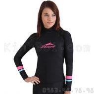 Áo Bơi Dài Tay Nữ Sbart 916 - Đen