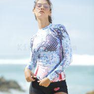 Áo Bơi Dài Tay Nữ D116 Chống Nắng Chống UV