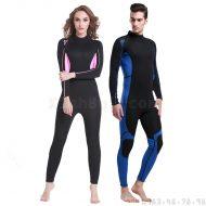Bộ Bơi Liền Nam Giữ Nhiệt Dày Wetsuit 3mm Sbart 1013 - Đen Xanh