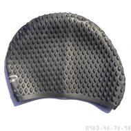 Mũ Bơi Silicone Mềm Chống Bí Aryca Cap010 - Đen