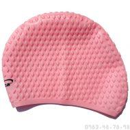 Mũ Bơi Silicone Mềm Chống Bí Aryca Cap010 - Hồng