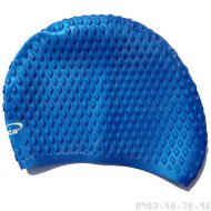 Mũ Bơi Silicone Mềm Chống Bí Aryca Cap010 - Xanh
