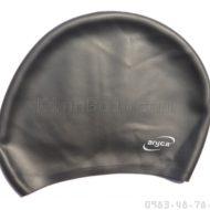 Mũ Bơi Silicone Mềm Cho Người Tóc Dài Aryca Cap011 - Đen