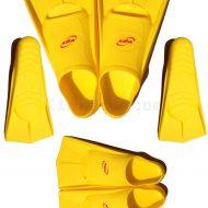 Chân Nhái Ngắn (Chân Vịt Bơi Tập Luyện) Aryca Training Fins - Vàng