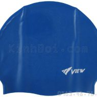 Mũ Bơi Silicone View - Xanh Dương