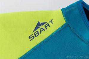 Bộ Bơi Liền Giữ Nhiệt (Wetsuit 2mm) Sbart 1120 Trẻ Em - Xanh