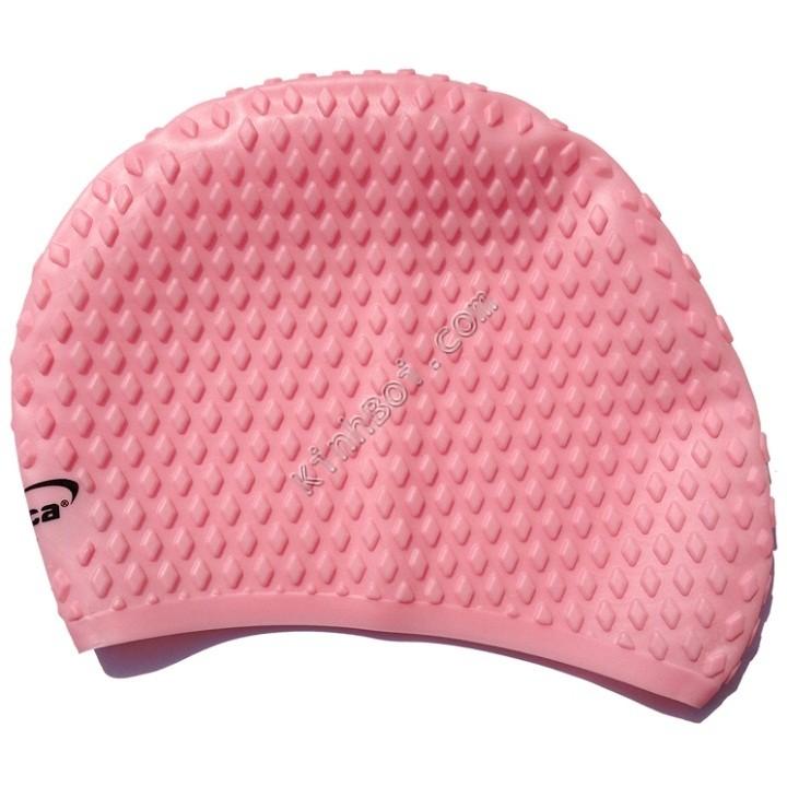 Mũ bơi chống bí Aryca Cap010 - Hồng