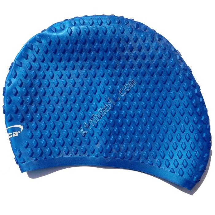 Mũ bơi chống bí Aryca Cap010 - Xanh