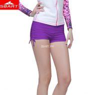Quần bơi nữ dạng đùi màu tím Sbart 8014