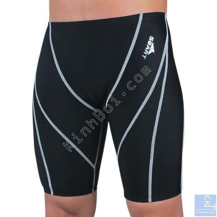 quần bơi lửng sbart 303 đen chỉ trắng