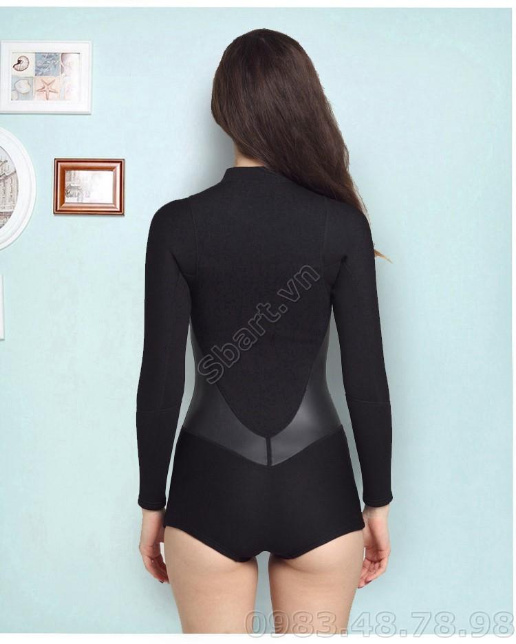 Áo bơi giữ nhiệt wetsuit nữ
