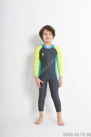 Bộ Bơi Liền Thân Bé Trai Chống Nắng Chống UV