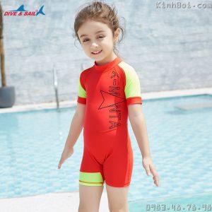 Bộ Bơi Bé Gái Chống Nắng Chống UV