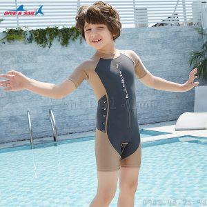 Bộ Bơi Cộc Bé Trai DS42 - Ghi