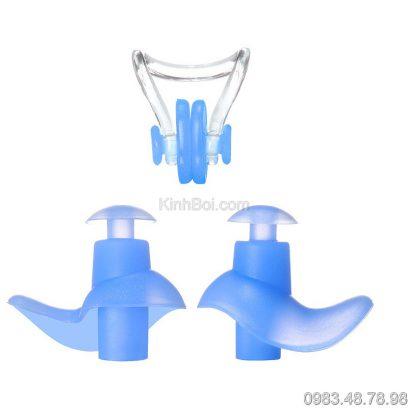 Bộ kẹp mũi bơi nút tai bơi
