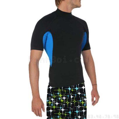 áo bơi cộc tay nam