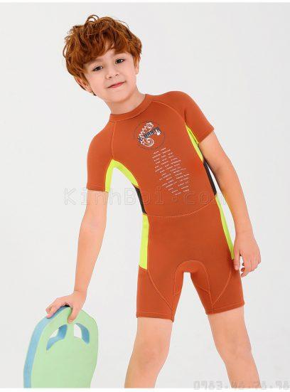 bộ bơi giữ nhiệt bé trai