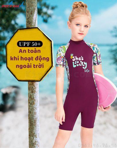 đồ bơi bé gái chống nắng chống UV