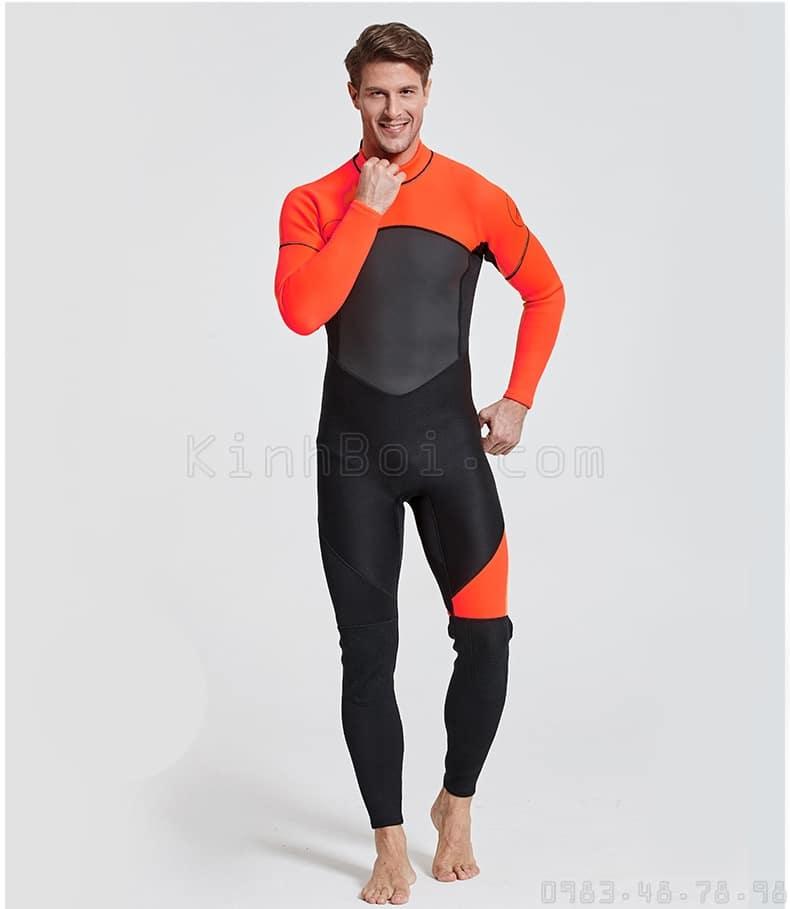 quần áo lặn biển chính hãng Sbart dày 3mm 3ly